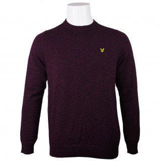 Cotton Knitted Crew Neck...